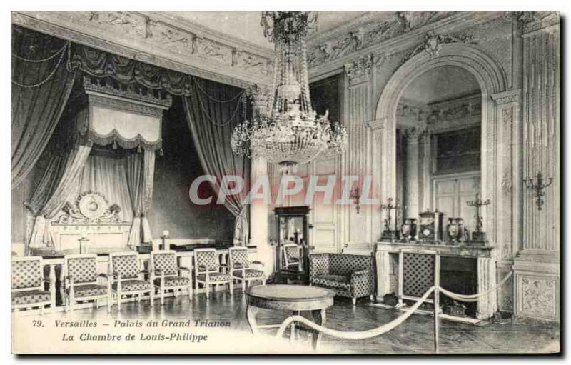 Old Postcard Versailles Palace of the Grand Trianon The House of Louis Philippe