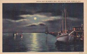 Alabama Mobile Moonlight On Mobile Bay Arlington Park