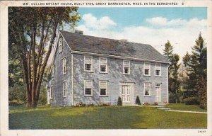 In the Berkshiries Wm Cullen Bryant House Built 1759 Great Barrington Massach...