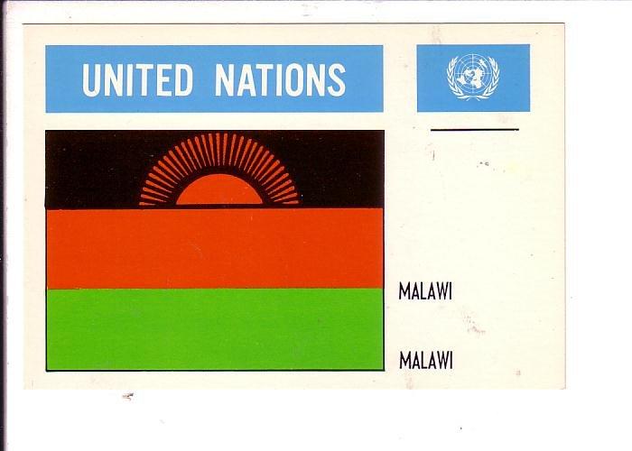 Malawi Flag, United Nations