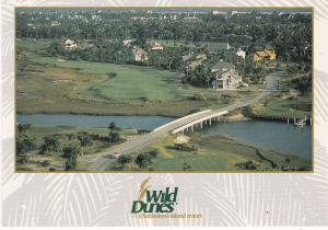 Post Card United States South Carolina Charleston  Wild Dunes The Harbour Course