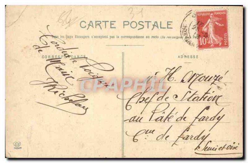 Postcard Old St Bertrand de Comminges Le Cloitre