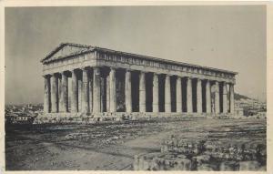 Greece Athens Temple de Thesee 1938 photo postcard