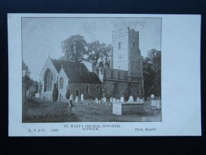 Suffolk IXWORTH St. Mary's Church - Old Postcard by L.P. & Co. 339