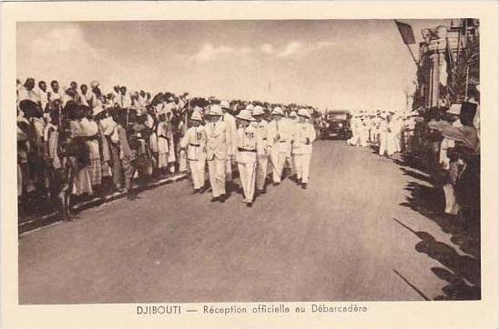 Djibouti Reception officielle au Debarcadere