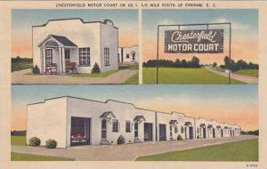 South Carolina Cheraw Chesterfield Motor Court