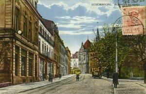 luxemburg, LUXEMBOURG, Boulevard du Viaduc (1925) Postcard