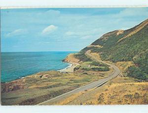 Pre-1980 TOWN VIEW SCENE Cape Breton Nova Scotia NS p9957