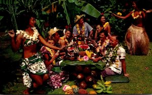 Hawaii Honolulu Don The Beachcomber's World Famous Luau 1966