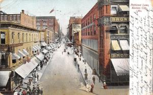 Kansas City MO~Before Harzfeld Dept Store Was Built 1906 Petticoat Ln (Compare)
