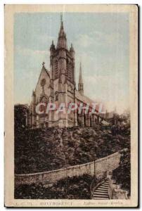 Old Postcard Montmorency Saint Martin Church