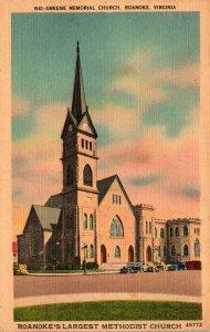 Virginia Roanoke Greene Memorial Church