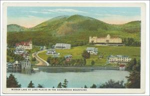 Mirror Lake at Lake Placid, Adirondack Mts