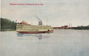 PENOBSCOT RIVER, Maine, 1900-1910s; Steamer Camden