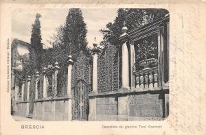 bg18510 Brescia Cancellata dei giardino terzi cocchetti italy