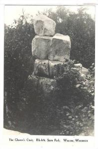 RP, The Queen's Chair, Rib Mt. State Park, Wausau, Wisconsin, 1920-1940s