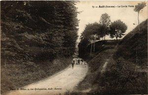 CPA AULT - La Cavée Verte (514976)