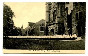 MA - South Hadley. Mt Holyoke College, Choir