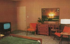 ATHENS , Georgia , 1940-1960s; Hotel Court, Bedroom in Executive Suite