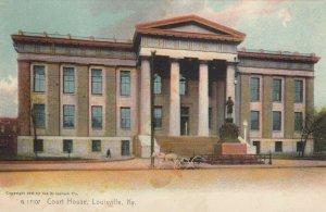 LOUISVILLE, Kentucky, PU-1909; Court House