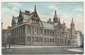Birmingham; Law Courts PPC, By Valentines, Unposted, c 1910's