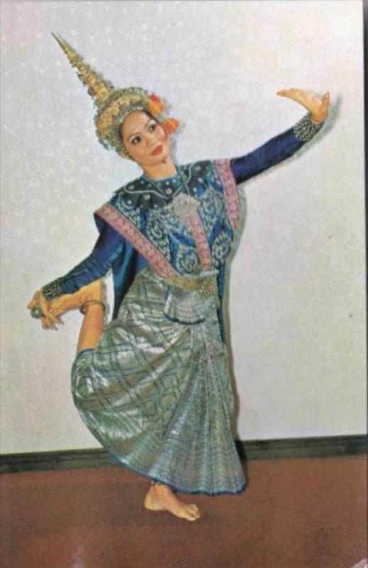Thailand A Posture Of Lakorn Thai Theatrical Play