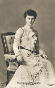 Crown Princess Alexandrine of Mecklenburg-Schwerin (1910s) Royalty Postcard