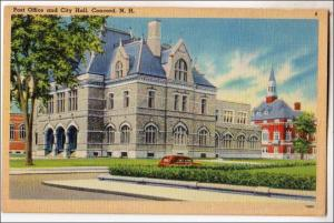 Post Office & City Hall, Concord NH