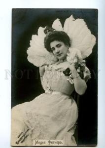 139140 Medea FIGNER Italian OPERA Singer FAN Vintage PHOTO