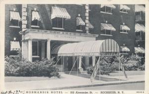 Normandie Hotel on Alexander Street, Rochester, New York - WB