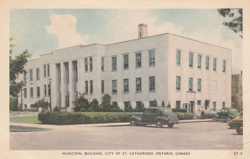 ST. CATHARINES , Ontario , Canada , 1930s ; Municipal Building