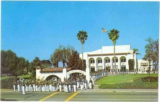 Army and Navy Academy with Cadets, Carlsbad, California, CA, Chrome