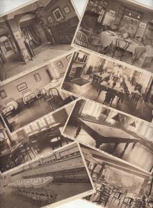 The Railway Convalescent Home interior Herne Bay Kent UK set of 8 postcard