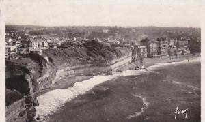France Biarritz Les Falaises vues du Phare 1944 Photo