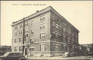 Pawtucket, Rhode Island, Y.M.C.A. Building (1940s) YMCA