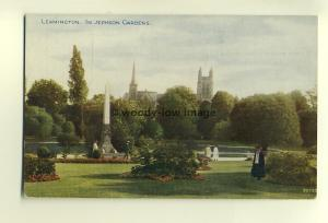 tp6820 - Warks - In Jephson Gardens by the Monument, at Leamington -  Postcard