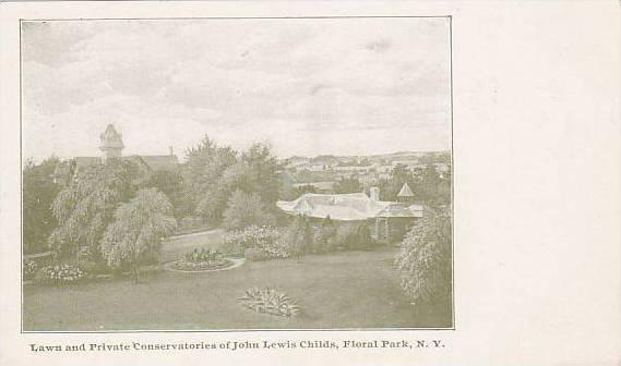Lawn And Private Conservatories Of John Lewis Childs, Floral Park, New York, ...