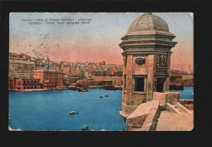 078255 MALTA Valletta - taken from Senglea Point  Vintage PC