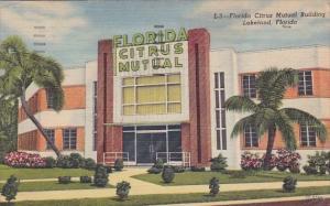 Florida Lakeland Florida Citrus Mutual Building 1955