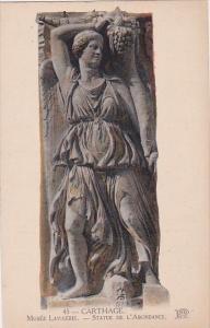 Tunisia Carthage Musee Lavigerie Statue de L'Abondance