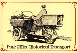 Royal Mail 1982 Postcard Experimental Post Car, Sittingbourne Kent (1910) V89