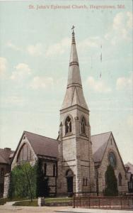 Maryland Hagerstown St John's Episcopal Church 1913