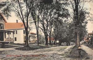 Amherst Massachusetts North Prospect Street Scene Antique Postcard K62354