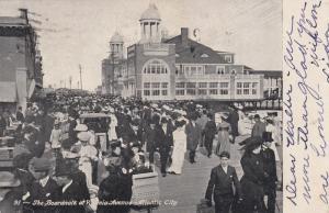 ATLANTIC CITY, New Jersey, PU-1906; The Boardwalk at Virginia Avenue
