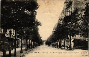CPA PARIS 16e-Tout Paris-Rue Michel Ange (326277)