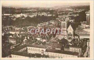 Postcard Old Troyes Vue Generale