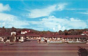Monterey California~Rancho Monterey Motel @ 1200 Munras Ave~Slide by Pool~1960s