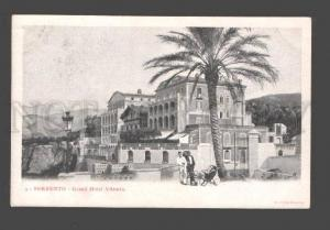 087070 ITALY Sorrento Grand Hotel Vittoria Vintage PC