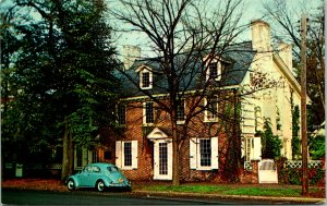 Dover DE Ridgely House on the Green Postcard unused (16425)
