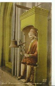 Somerset Postcard -  Jack Blandiver  - Wells Cathedral - Ref 7850A